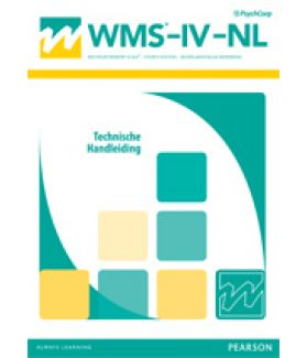 WMS-IV-NL | Wechsler Memory Scale IV-NL