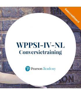 WPPSI-IV-NL Conversietraining